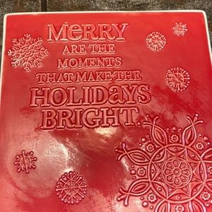 Hallmark Holiday Trivet